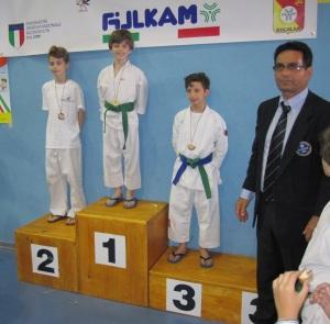 Ryoku Karate Palermo – Gran Premio Giovanissimi 17-05-2015 – Il Podio