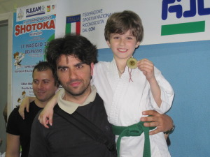 Ryoku Karate Palermo - Gran Premio Giovanissimi 17-05-2015 - Marco Siino e Gabriele Buscemi