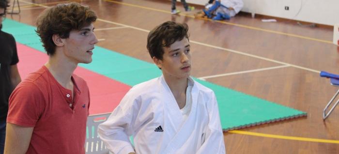 Ryoku Karate Palermo - Cesare Caruso e Sergio Chianetta