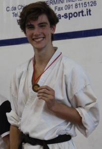Ryoku Karate Palermo - Qualificazioni Nazionali Cadetti 2015 - Cesare Caruso