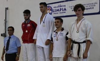 Ryoku Karate Palermo - Qualificazioni Nazionali Cadetti 2015 - Il podio