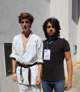 Ryoku Karate Palermo - Qualificazioni Nazionali Cadetti - Cesare Caruso e Marco Siino