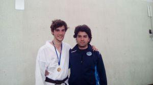 Ryoku Karate Palermo - Qualificazioni Nazionali Cadetti 2016 - Cesare Caruso e Marco Siino