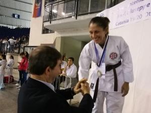Ryoku Karate Palermo - Open Internazionali di Sicilia 2019 - Podio Kumite femminile Master