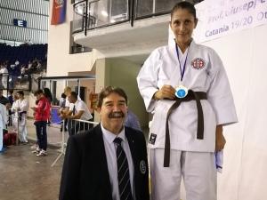 Ryoku Karate Palermo - Open Internazionali di Sicilia 2019 - Primo Posto Kumite Master