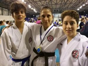 Ryoku Karate Palermo - Open Internazionali di Sicilia 2019 - Gli atleti: Marco Giunta, Micaela Di Carlo, Gabriele Daniele
