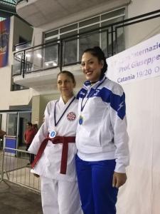 Ryoku Karate Palermo - Open Internazionali di Sicilia 2019 - Podio Kata Master